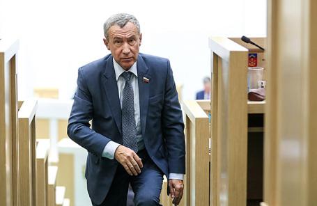 Заместитель председателя комитета Совета Федерации РФ по международным делам Андрей Климов.