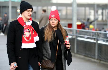 Болельщики «Арсенала».