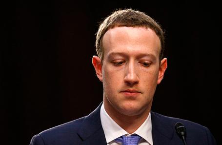 Марк Цукерерг.