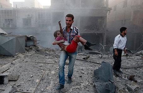 Сирия вместе сРоссией пробуют  утаить  следы химатаки