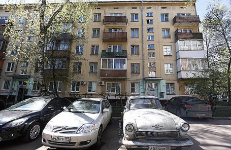 Жилой дом на улице Гарибальди в Черемушках, попавший в перечень для голосования по включению в проект программы реновации жилья.