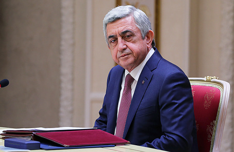 Экс-президент Армении Серж Саргсян.