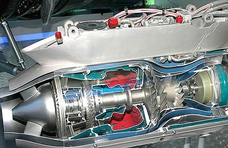 Газотурбинная установка ГТД-110М.