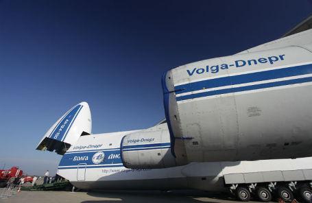 Самолет Ан-124 «Руслан» авиакомпании «Волга-Днепр».