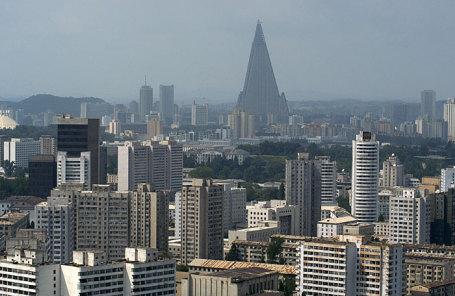 Вид Пхеньяна.