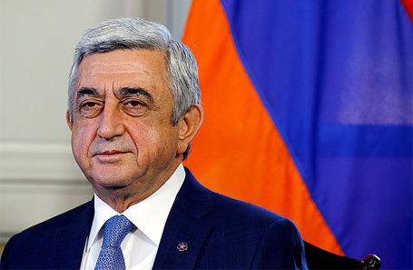 Серж Саргсян.