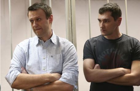 Алексей и Олег Навальные.
