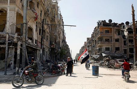 Город Дума, Сирия.