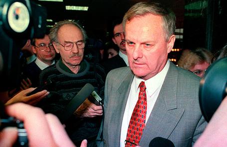 Анатолий Собчак, 19 марта 1996 года.