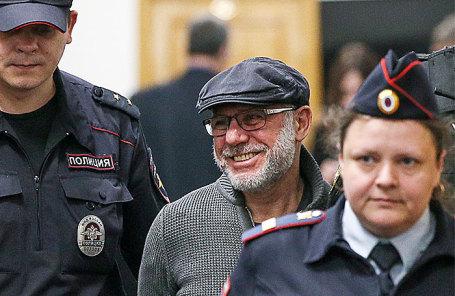 Алексей Малобродский в Басманном суде, 27 апреля 2018 года.