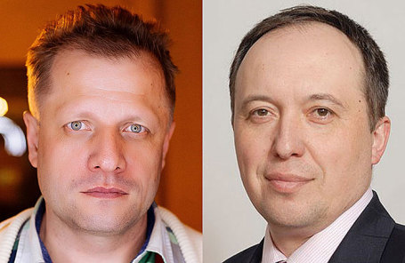 Павел Неверов и Олег Елкин (слева направо).