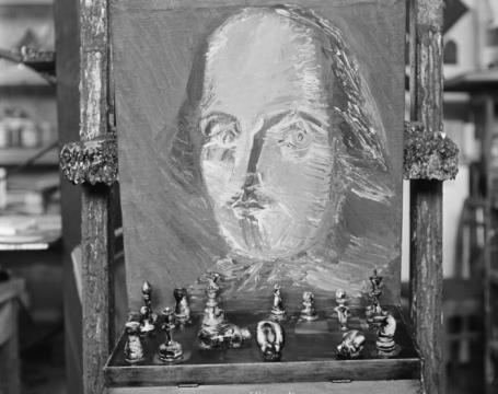 Картина художника Генриха Элибекяна «Шекспир».