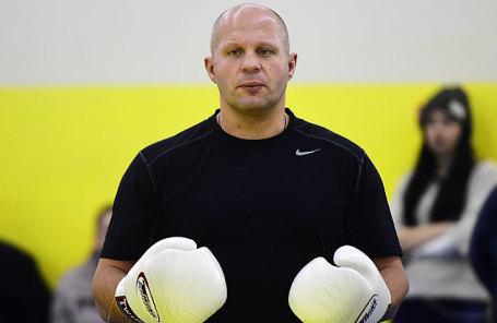Многократный чемпион мира по боевому самбо и смешанным единоборствам Федор Емельяненко.