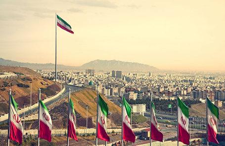 Вид Тегерана, Иран.