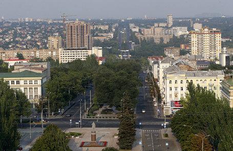 Вид Донецка.