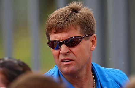 Тренер российской сборной по спортивной ходьбе Виктор Чегин.