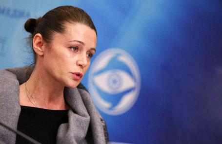 Актриса Оксана Фандера.