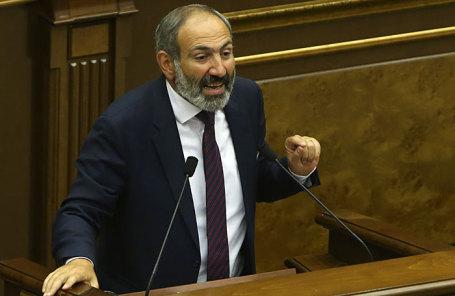 Лидер армянской оппозиции Никол Пашинян.