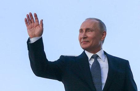 Избранный президент России Владимир Путин.