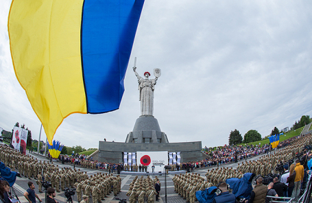 Мероприятия по случаю 73-й годовщины Победы над нацизмом в Киеве, 9 мая 2018 года.