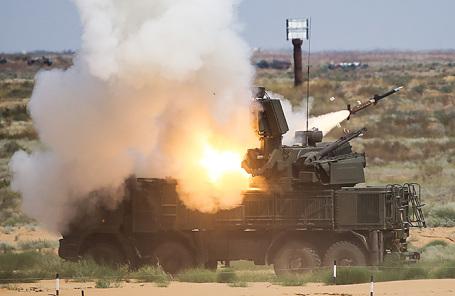 Зенитный ракетно-пушечный комплекс (ЗРПК)  «Панцирь-С».