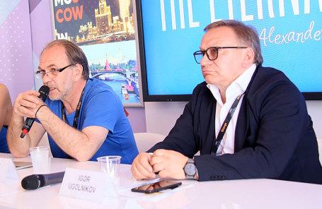 Алексей Гуськов и Игорь Угольников (слева направо).
