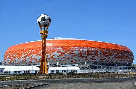 Стадион «Мордовия Арена» в Саранске.