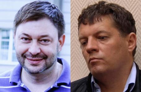 Кирилл Вышинский (справа) и Роман Сущенко.