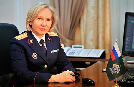 Руководитель управления взаимодействия со средствами массовой информации СК РФ Светлана Петренко.