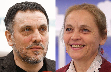 Максим Шевченко и Еелена Шувалова.