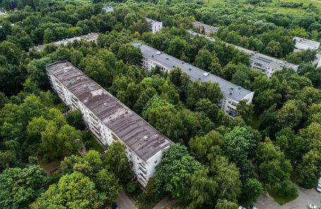 Дома на Родниковой улице в Солнцеве, попавшие в программу реновации.