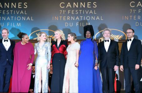 Церемония закрытия 71-го Каннского международного кинофестиваля.