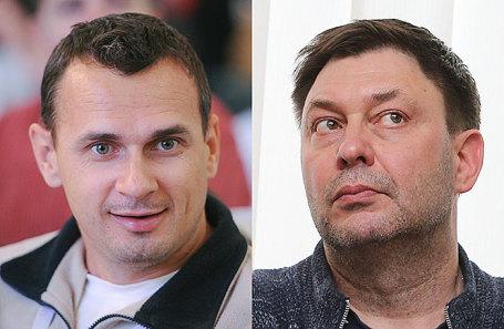 Олег Сенцов и Кирилл Вышинский (слева направо).