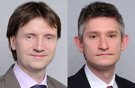 Александр Кудрин (слева) и Александр Фэк.