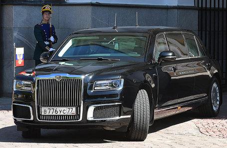 Автомобиль проекта кортеж ЛиАЗ «Аурус».