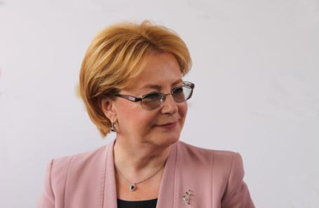Вероника Скворцова, министр здравоохранения РФ
