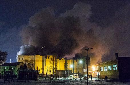 Пожар в ТЦ «Зимняя вишня» в Кемерове.