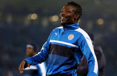 Нигерийский футболист Ахмед Муса.