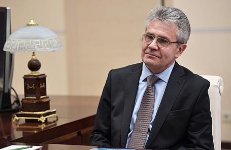 Глава РАН Александр Сергеев.