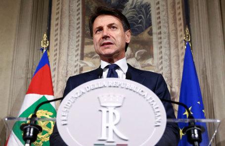 Премьер-министр Италии Джузеппе Конте.