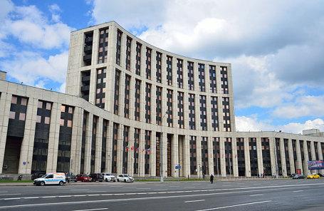 Здание Внешэкономбанка.