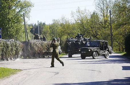 Эстонские военнослужащие.