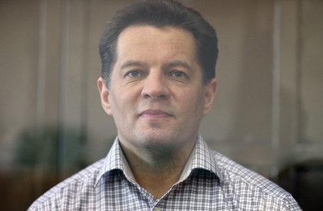 Роман Сущенко в Мосгорсуде.