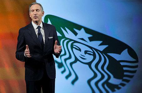 Руководитель Starbucks уходит вотставку спустя практически 40 лет уруля компании