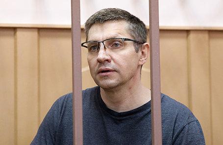 Андрей Горьков в Басманном суде в Москве, 8 июня 2018 года.