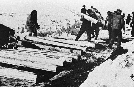 Заключенные ГУЛАГа, 1940 год.