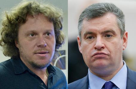 Сергей Полонский и Леонид Слуцкий.
