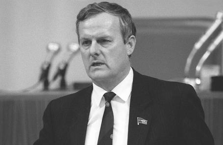 Анатолий Собчак, 1989 год.