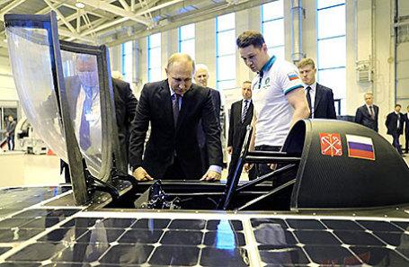 Русский солнцемобиль испытали вбоевом режиме натреке