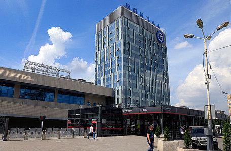 Железнодорожный вокзал в Ростове-на-Дону.